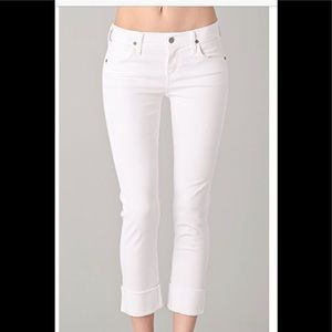 C of Humanity cropped jeans